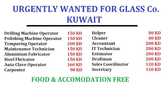 URGENTLY WANTED FOR KUWAIT - DUBAI JOB WALKINS