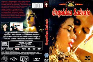 Carátula dvd: Orquídea salvaje (1990) Wild Orchid