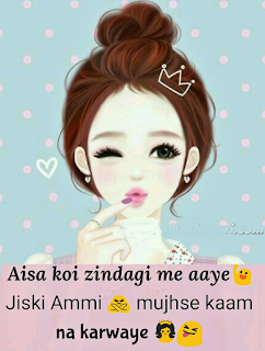 Girl attitude whatsapp status