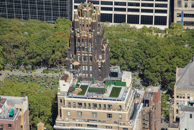 Bryant Park from the Empire State