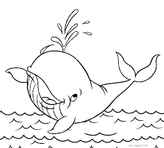 Best Collection Of Whale Coloring Pages Images