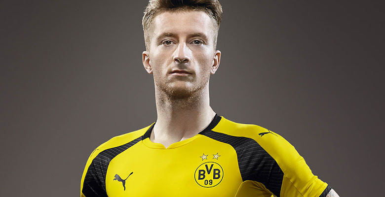b40f193393a Borussia Dortmund 16-17 Champions League Kit Released