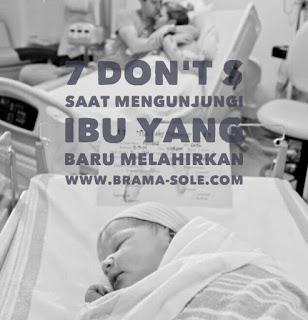 7 Hal Yang Nggak Boleh Dilakukan Saat Mengunjungi Ibu Yang Baru Melahirkan.