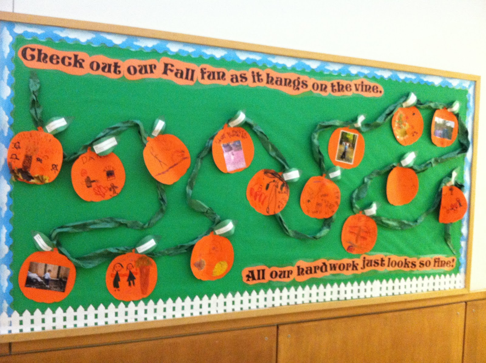 Ms. C's Crafty Classroom Ideas: Double Bulletin Boards