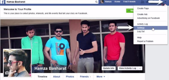 how do you change your email address on facebook