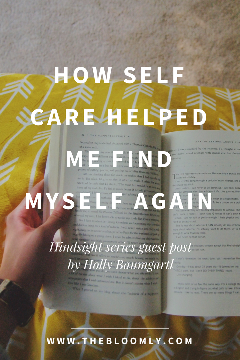 How Self-Care Helped Me Find Myself Again