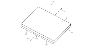 apple flexible display patent application