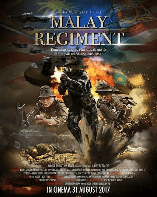 Malay Regiment, poster malay regiment,