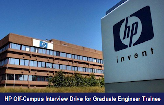 HP Off Campus Interview Drive for Graduate Engineer Trainee On 16th Oct 2016