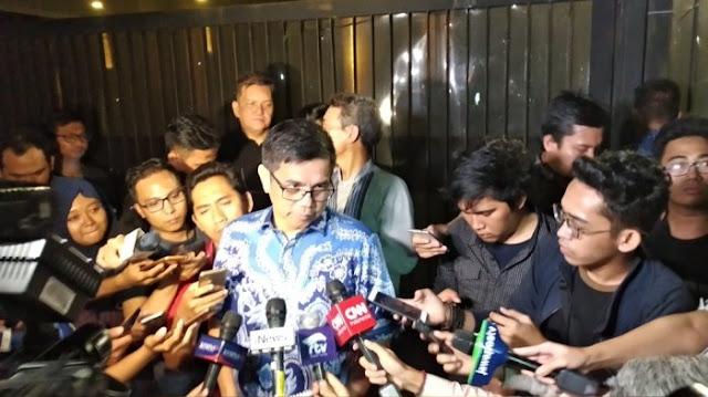 Fix! Sekjen Demokrat Antar Surat Dukungan ke Rumah Prabowo