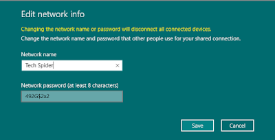 Use your PC as a mobile hotspot in windows 10