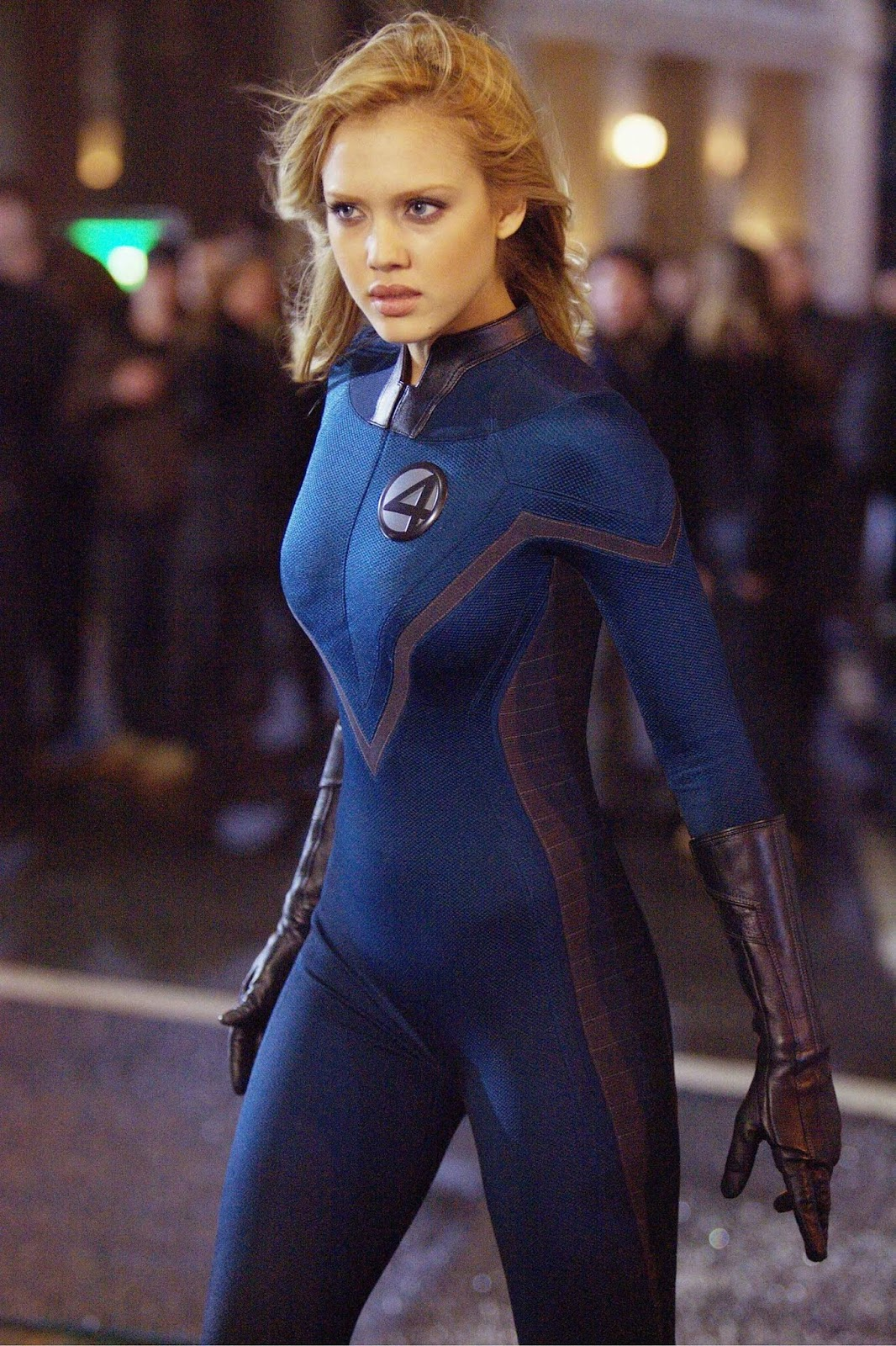 Jessica Alba as Sue Storm in Fantastic Four (2005)