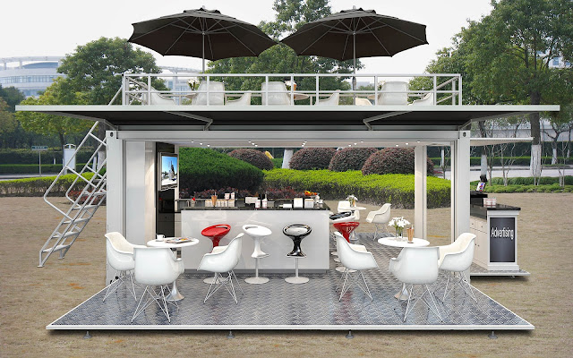 Container Coffee shop Design