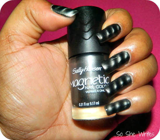 Magnetic Manicure: Sally Hansen Magnetic Nail Color - So She