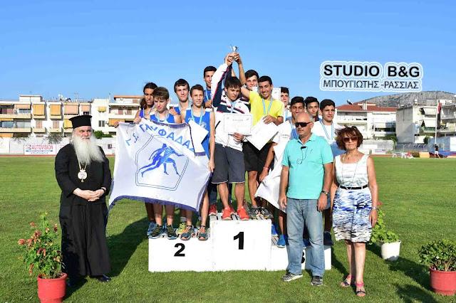 Η Οργανωτική Επιτροπή των αγώνων στίβου του Πανελληνίου Πρωταθλήματος Παμπαίδων Παγκορασίδων ευχαριστεί τους τοπικούς φορείς της Αργολίδας