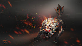 Lycan DOTA 2 Wallpaper, Fondo, Loading Screen
