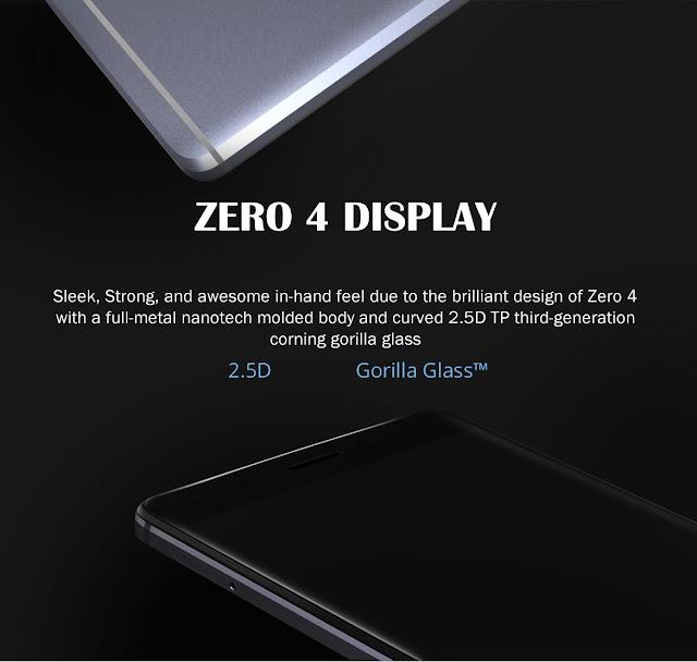 infinix zero 4 display