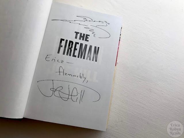 Joe Hill autograph in The Fireman