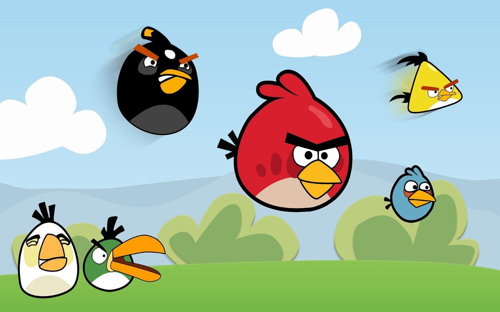 Angrybirds Francescanatale 05: Aula De Música: Jugando Con Angry Birds