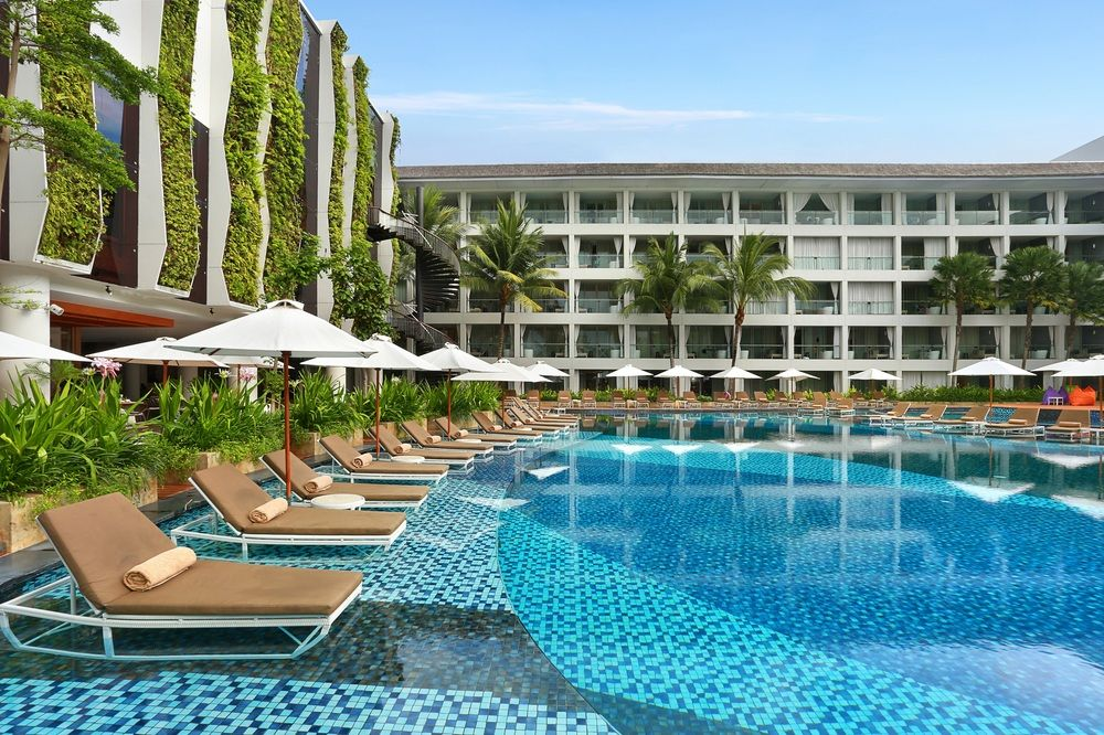 BEST HOTEL'S POOL IN KUTA AT THE STONES HOTEL BALI