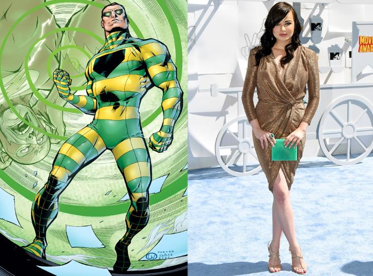 The Flash - Season 3 - Ashley Rickards Cast as The Top