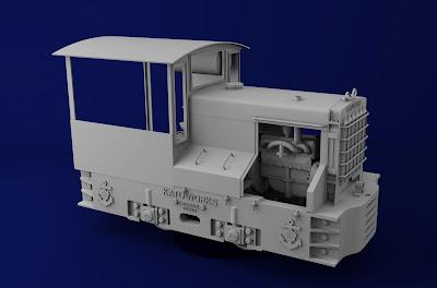 加藤3トン ガソリン機関車