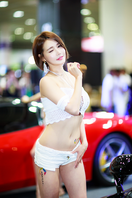 Han Ga Eun - Seoul Auto Salon 2017 - very cute asian girl - girlcute4u.blogspot.com (4)