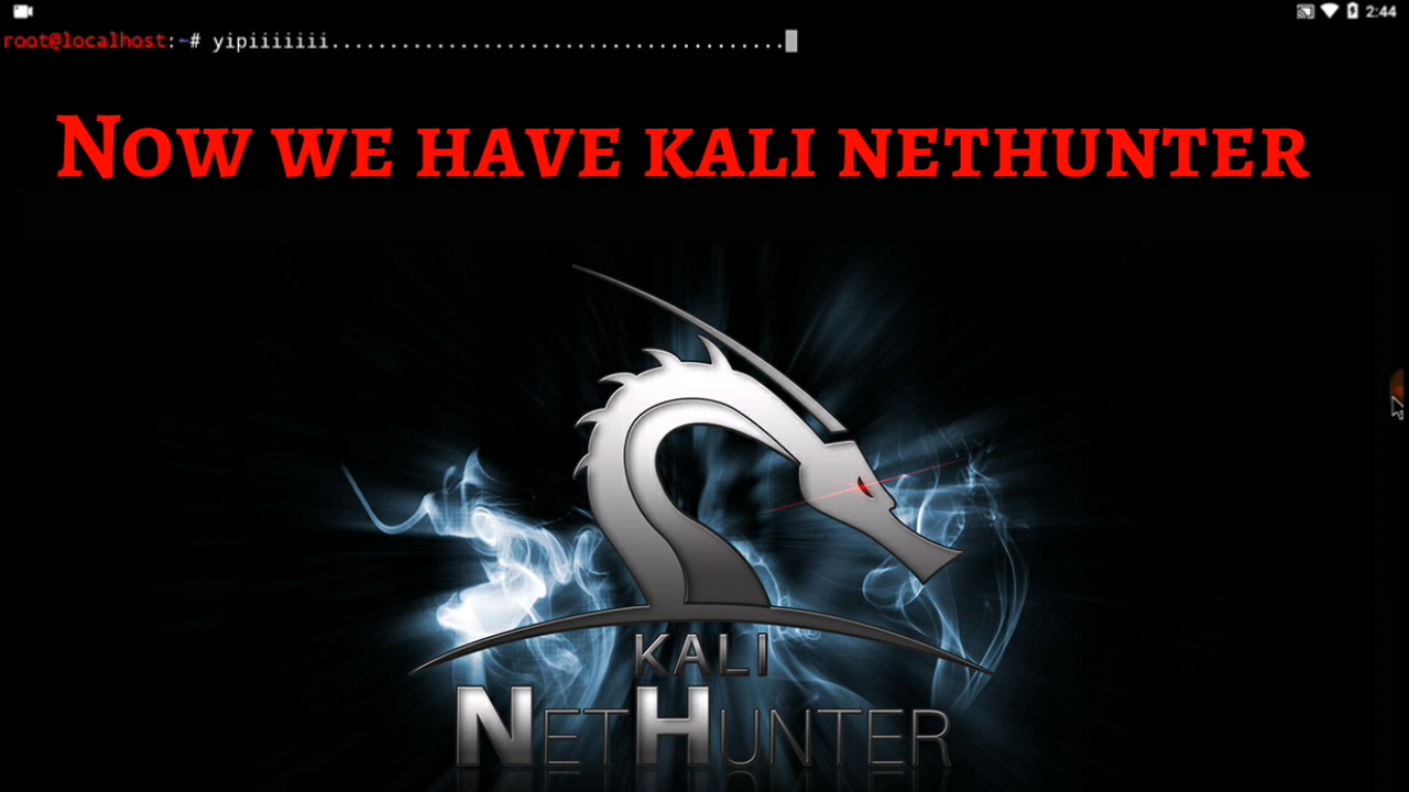 INSTALL KALI-NETHUNTER WITHOUT ROOT USING TERMUX | Hax4Us