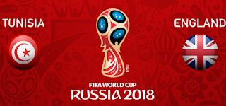 مشاهدة مباراة تونس وانجلترا بث مباشر اليوم يوتيوب 18-6-2018 في كاس العالم