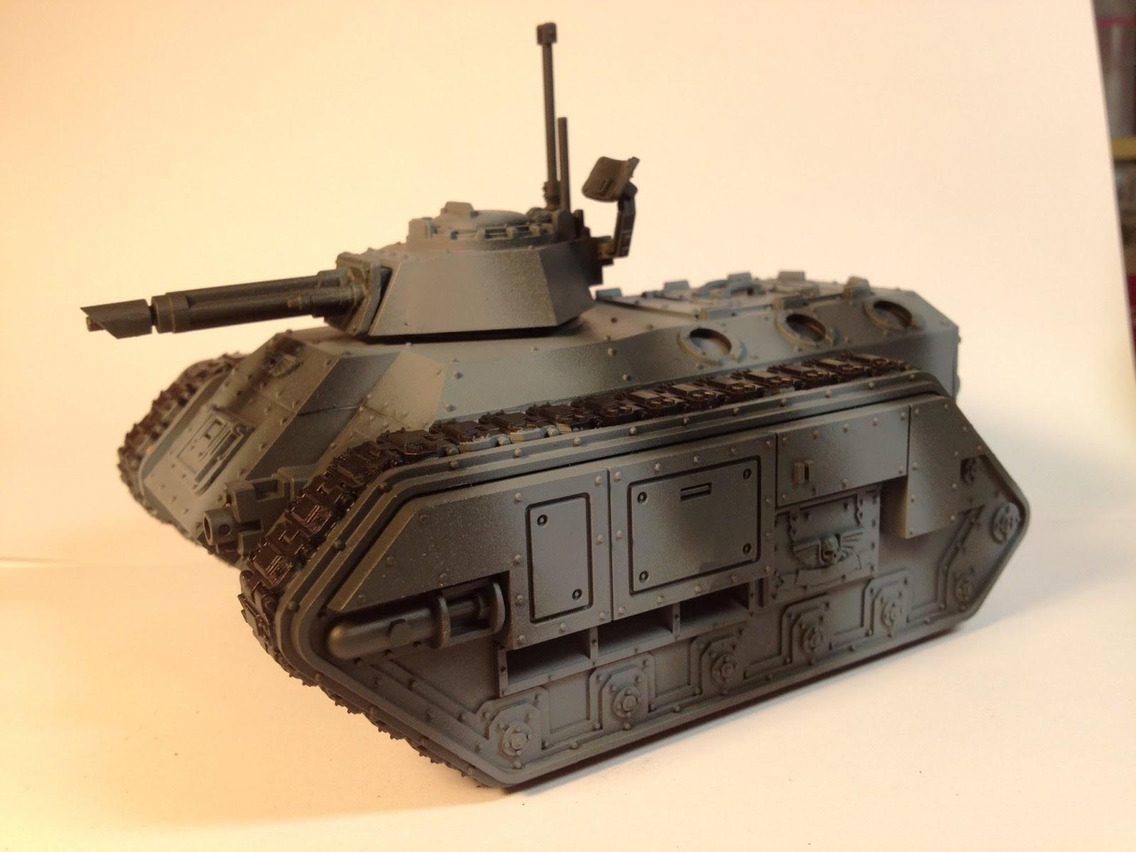 Death Korps of Krieg Chimera WIP Left Side