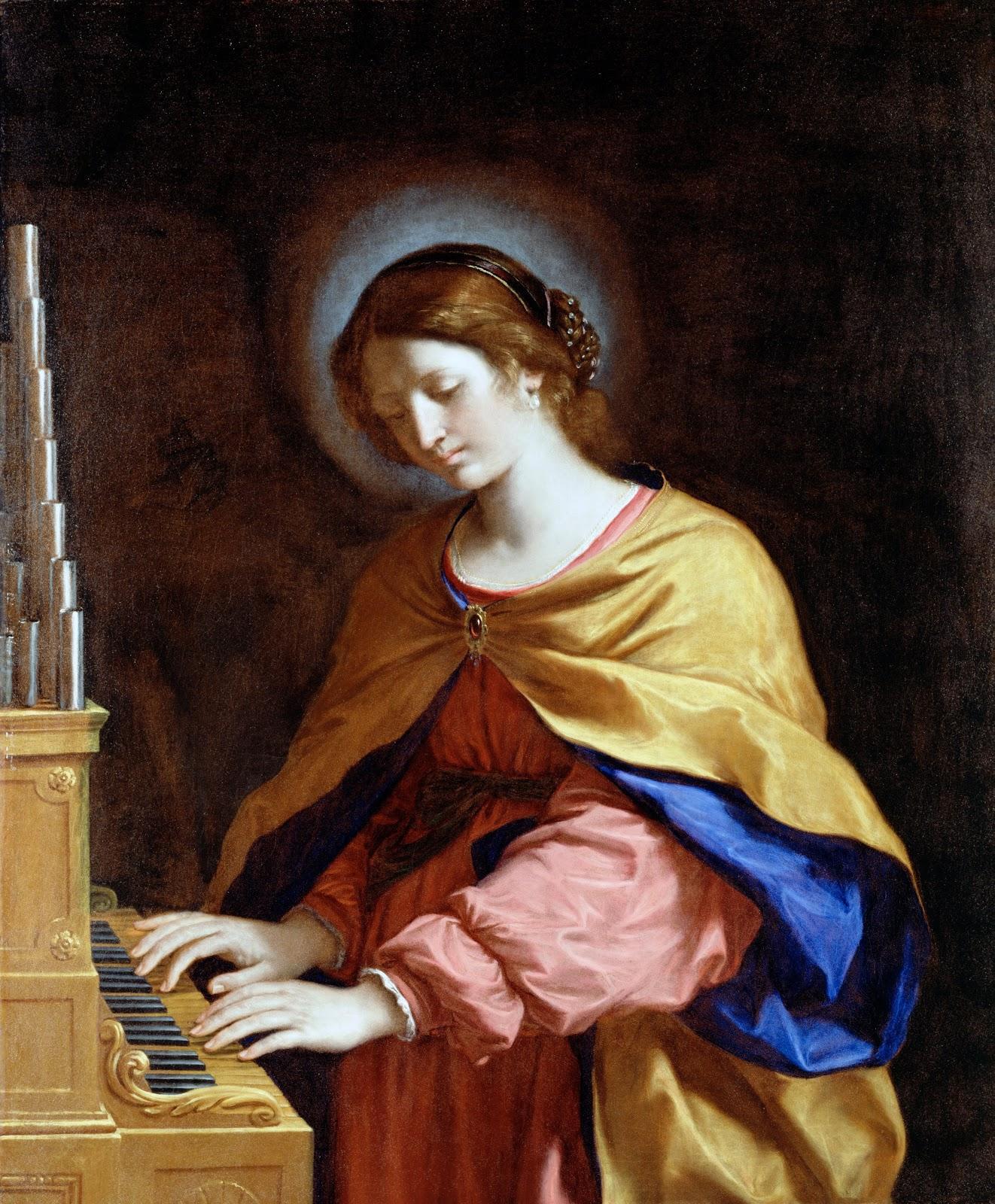 Guercino   Saint Cecilia
