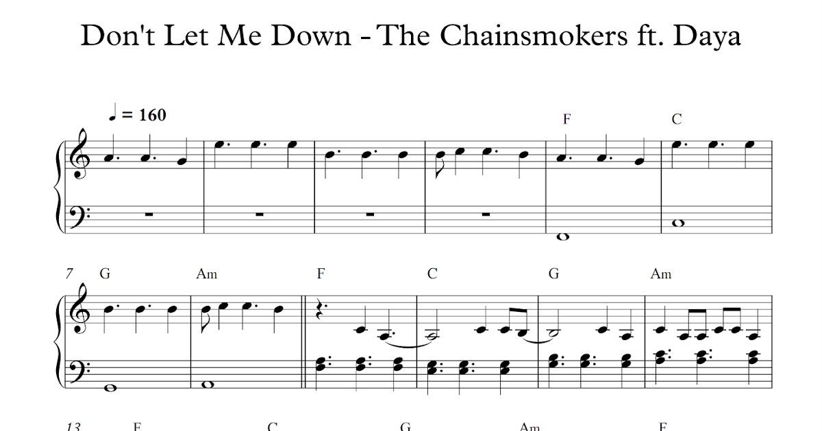 Play Popular Music Dont Let Me Down The Chainsmokers Ft Daya