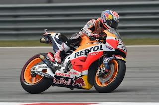 Pedrosa Tercepat Sesi Pemanasan Race MotoGP Jerman 2016