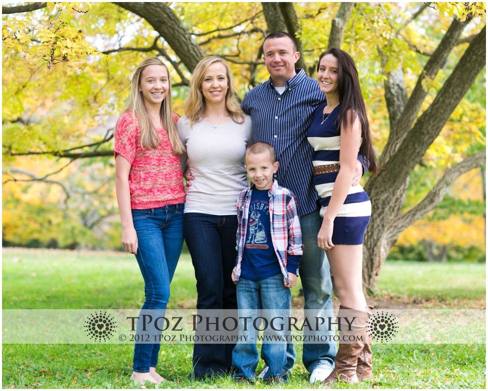Cylburn Arboretum Family Portrait