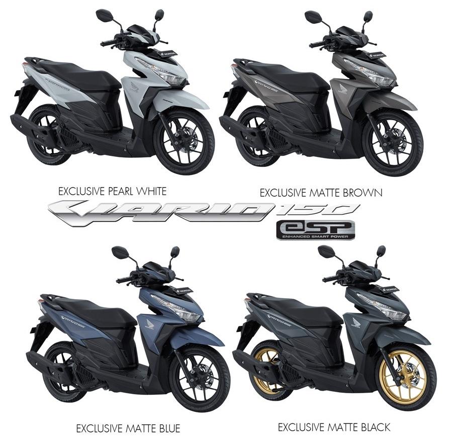 Ide 95 Gambar Sepeda Motor Vario 2017 Terbaru Dan Terkeren Jepit All New 150 Esp Exclusive Matte Black Boyolali Harga Baru Matic