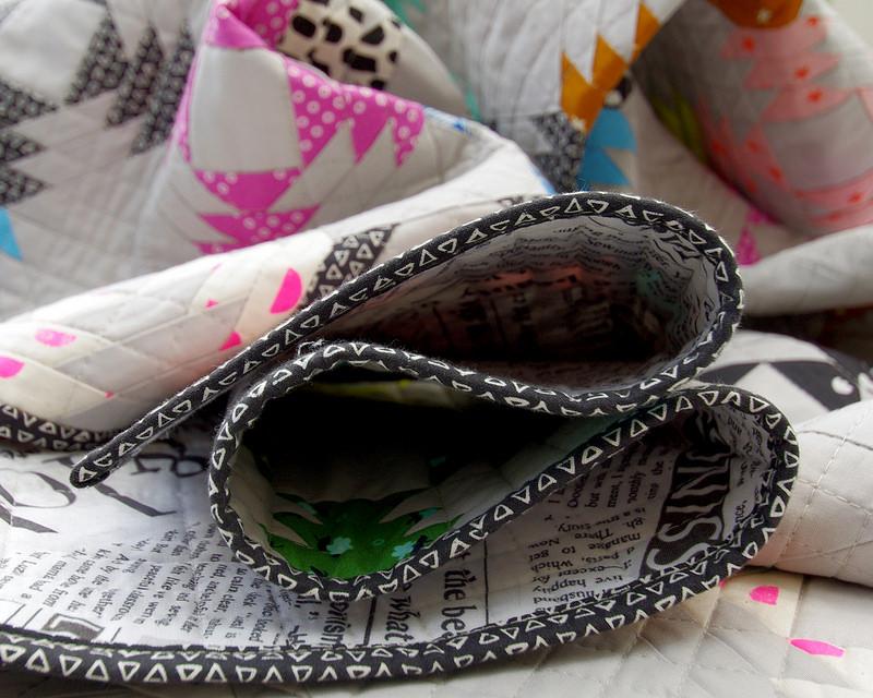 Binding fabric.