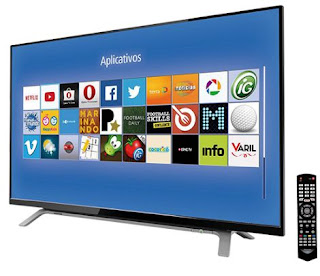 "Comprar Smart TV LED 40"" Toshiba Full HD com Conversor Digital e Wi-Fi"