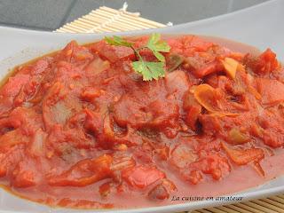 http://recettes.de/salade-marocaine-chaude-aux-poivrons-et-tomates