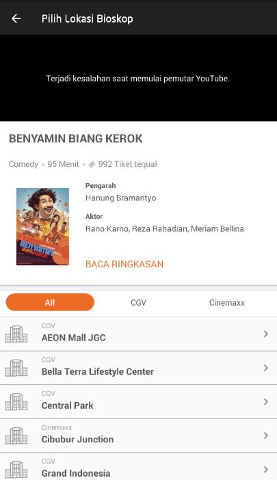 3 Cara Pesan Tiket Nonton Di Bioskop Secara Online Melalui Android