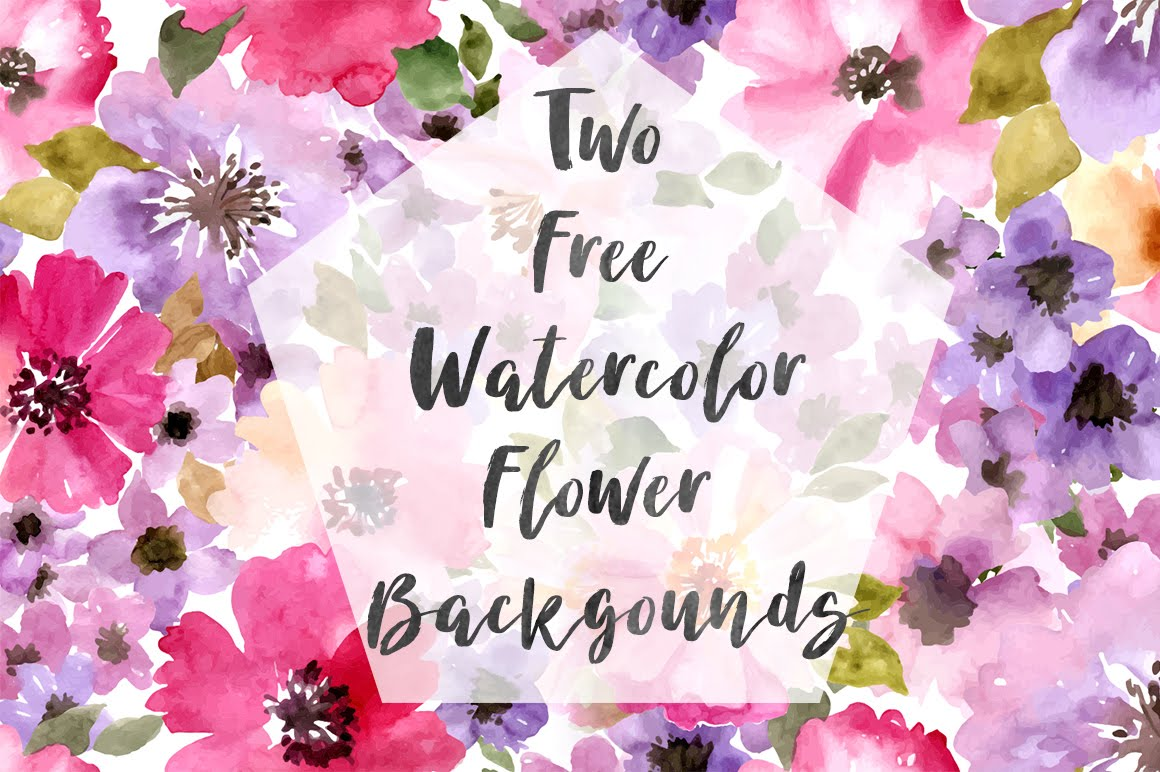 dlolleys help two free watercolor flower backgrounds