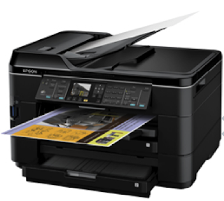 Epson WF-7520 Driver Free Download