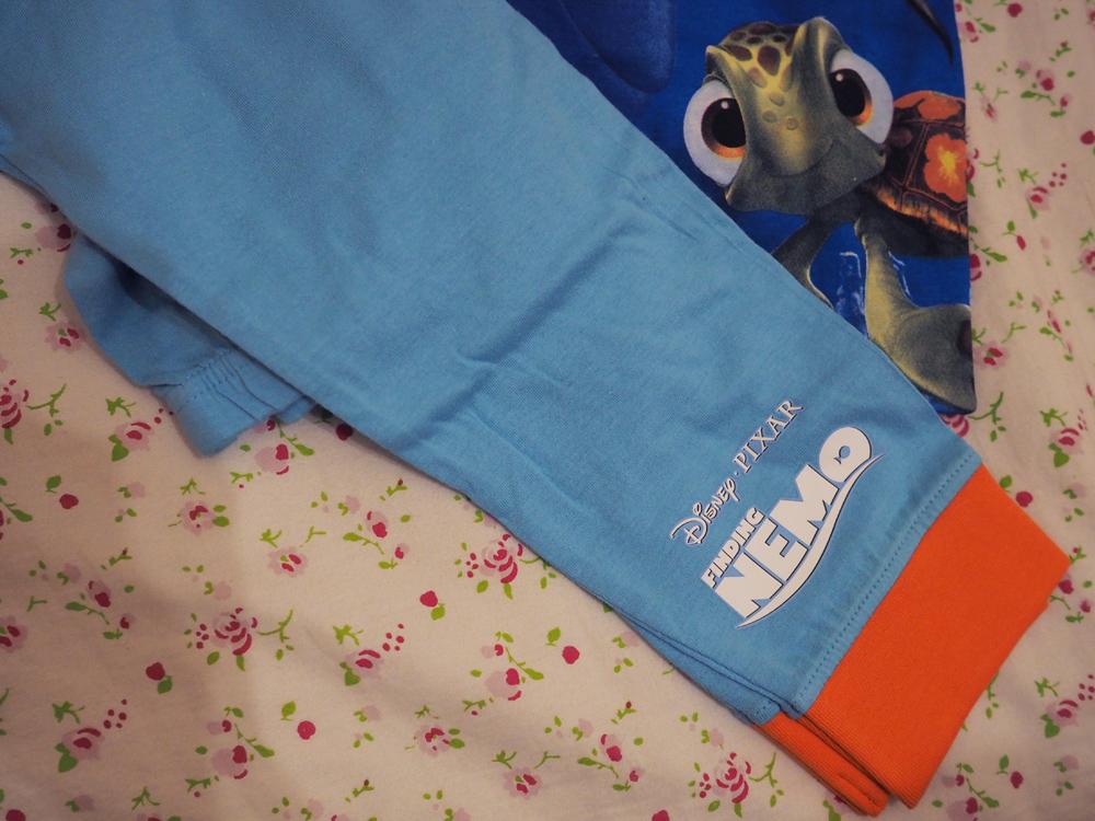 The PyjamaFactory Boys Eat Sleep Football Repeat Long Cotton Pyjamas Blue Unisex