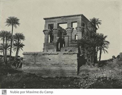 Daguerrotipo de Nubia