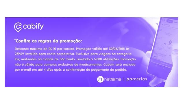 PARCERIA NETFARMA E CABIFY