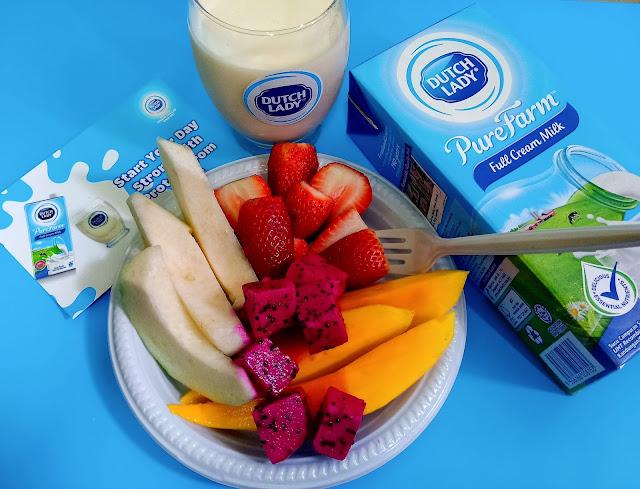 Cabaran Breakfast Challenge|Mulakan Hari Yang Kuat Dengan Susu Dutch Lady Pure Farm