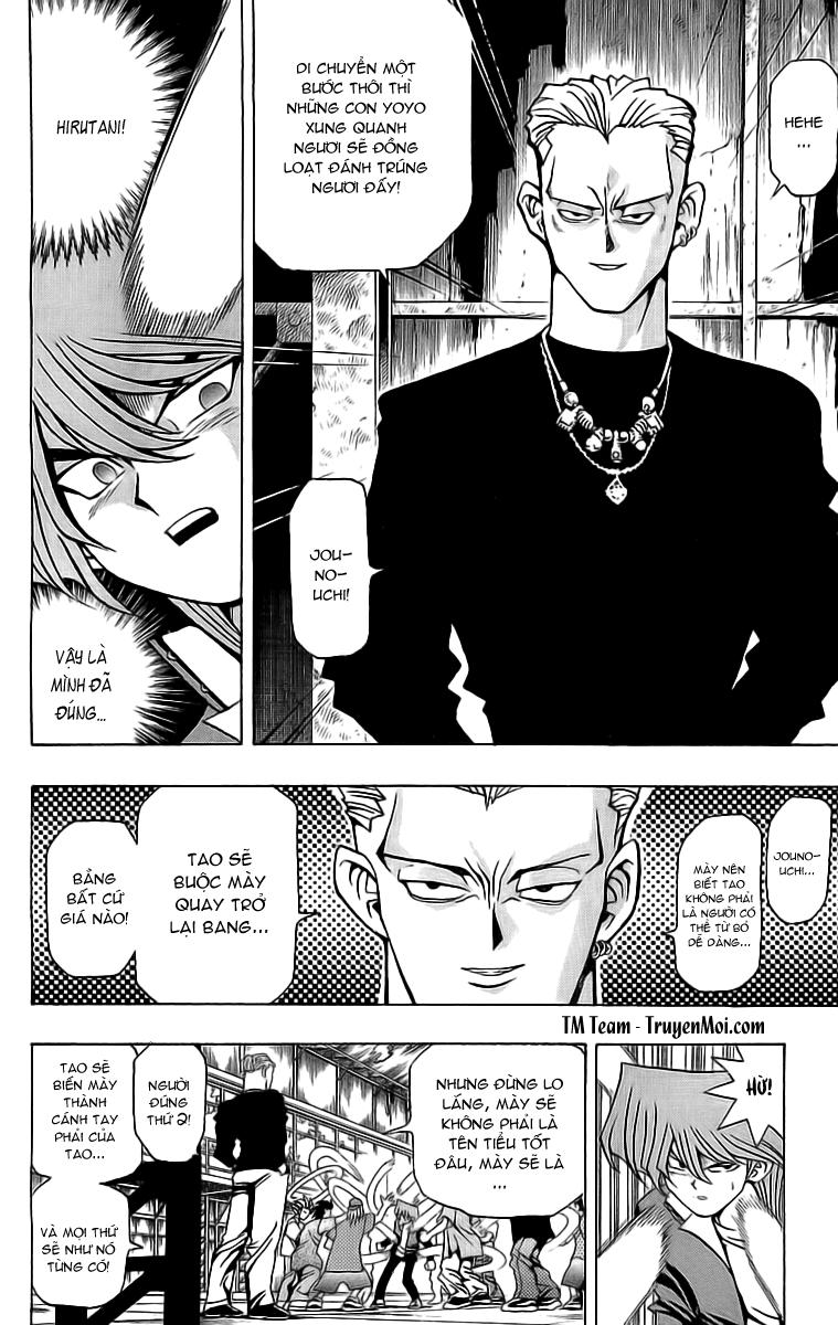YUGI-OH! chap 48 - tiến lên jonouchi phần i trang 14