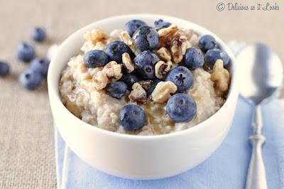 Low-FODMAP Millet Porridge  /  Delicious as it Looks