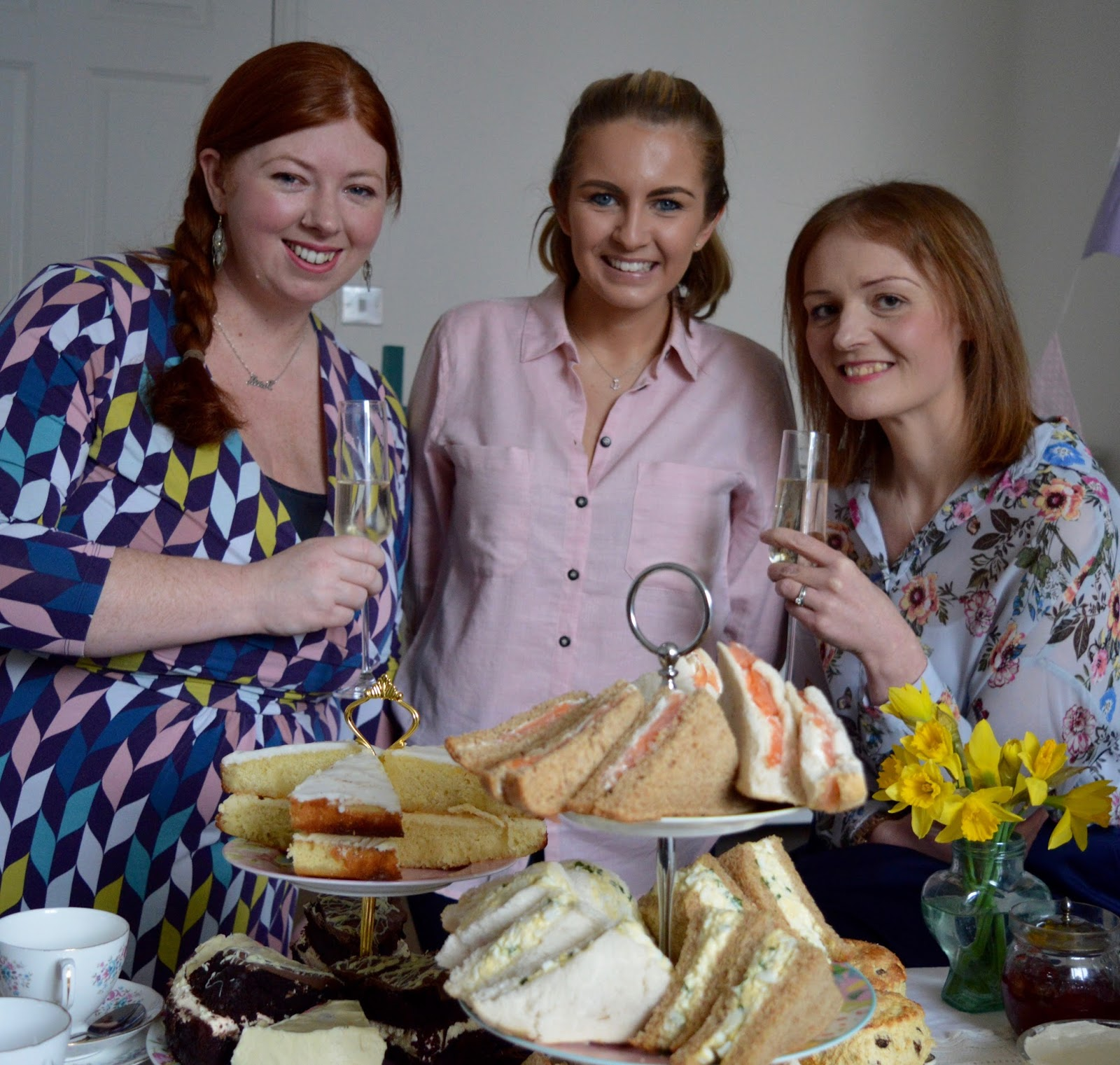Afternoon Tea delivered in Newcastle with Mrs Dellows Delights - Afternoon tea at Chloes