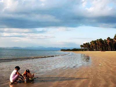 pantai lasiana, wisata pantai lasiana, keindahan pantai lasiana, pantai lasiana terbaru 2017