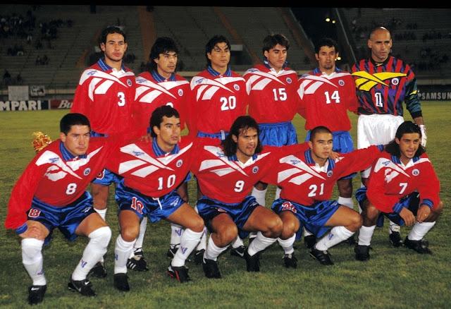 Formación de Chile ante Ecuador, Copa América 1997, 17 de junio